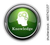 knowledge icon. knowledge... | Shutterstock . vector #680742157