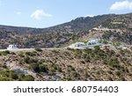 agios ioannis siderianos... | Shutterstock . vector #680754403