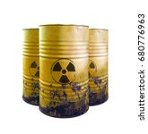 Yellow Barrel Of Toxic Waste...