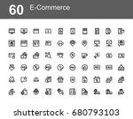 creative icon set   e commerce | Shutterstock .eps vector #680793103