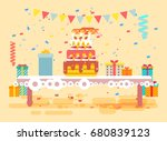 stock vector illustration huge... | Shutterstock .eps vector #680839123