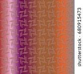 metal grid pattern for design...   Shutterstock .eps vector #680915473
