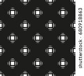 vector seamless pattern. modern ... | Shutterstock .eps vector #680918863