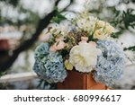 compositions of flowers and... | Shutterstock . vector #680996617