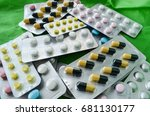 medicine pills blister packs