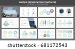 set of multi colour elements... | Shutterstock .eps vector #681172543