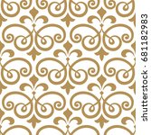 wallpaper in the style of... | Shutterstock .eps vector #681182983
