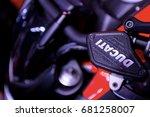 ducati diavel motorcycles... | Shutterstock . vector #681258007