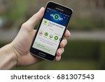 lendelede  belgium   april 21st ... | Shutterstock . vector #681307543