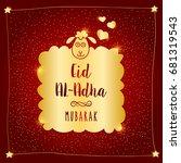 eid al adha   Shutterstock .eps vector #681319543