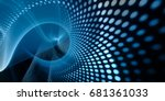 abstract background element.... | Shutterstock . vector #681361033