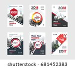city background business book... | Shutterstock .eps vector #681452383