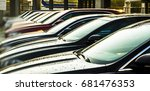 luxury modern cars for sale... | Shutterstock . vector #681476353