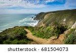 panorama of coastline from... | Shutterstock . vector #681504073