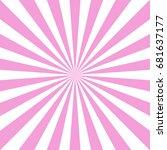 sunlight abstract background.... | Shutterstock .eps vector #681637177