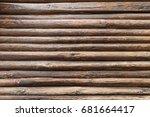 wood walls | Shutterstock . vector #681664417