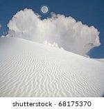 Full Moon At White Sands New...