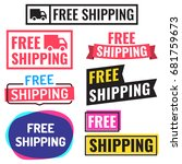 free shipping. badge  icon ...