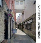 newport  isle of wight  uk.... | Shutterstock . vector #681813997
