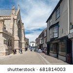 newport  isle of wight  uk.... | Shutterstock . vector #681814003