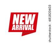 new arrival | Shutterstock .eps vector #681820603