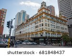 downing centre  people and... | Shutterstock . vector #681848437