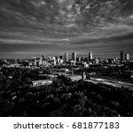 downtown atlanta  ... | Shutterstock . vector #681877183