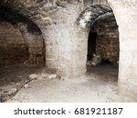 Mystic Interior Of An Ancient...