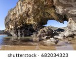 sea. | Shutterstock . vector #682034323