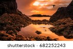 porto sanot  unlike mountainous ...   Shutterstock . vector #682252243
