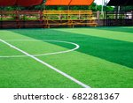 photo of a green synthetic... | Shutterstock . vector #682281367