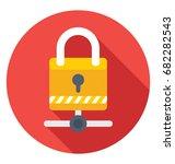 network security vector icon    Shutterstock .eps vector #682282543