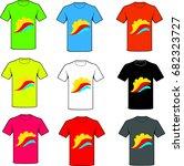 shirts | Shutterstock .eps vector #682323727