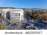 thessaloniki  greece   december ... | Shutterstock . vector #682355317