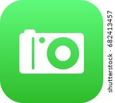 isolated photographing icon...   Shutterstock .eps vector #682413457