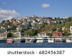 istanbul  bosphorus  turkey ... | Shutterstock . vector #682456387