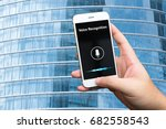 voice recognition   speech... | Shutterstock . vector #682558543