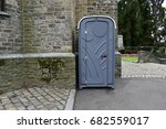 portable toilet cabins or