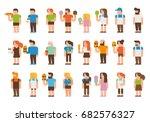 people | Shutterstock .eps vector #682576327