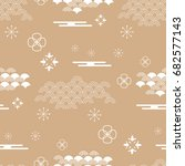 beautiful japanese seamless ...   Shutterstock .eps vector #682577143