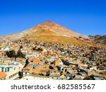 cerro rico and rooftops of... | Shutterstock . vector #682585567