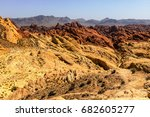 Valley Of Fire State Park With...