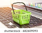 online shopping  internet... | Shutterstock . vector #682609093