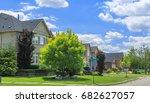 custom built luxury houses in... | Shutterstock . vector #682627057