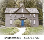Small photo of Alcott Orchard House, Concord, Massachusetts