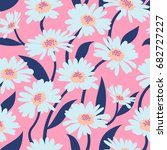 vector seamless pattern with... | Shutterstock .eps vector #682727227