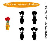 find the correct shadow ... | Shutterstock .eps vector #682762537