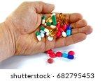 pharmacy background. pills