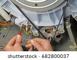 washing machine appliance... | Shutterstock . vector #682800037