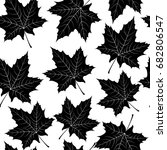 beautiful hand drawn autumn... | Shutterstock . vector #682806547